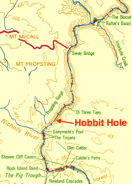 Hobbit Hole location