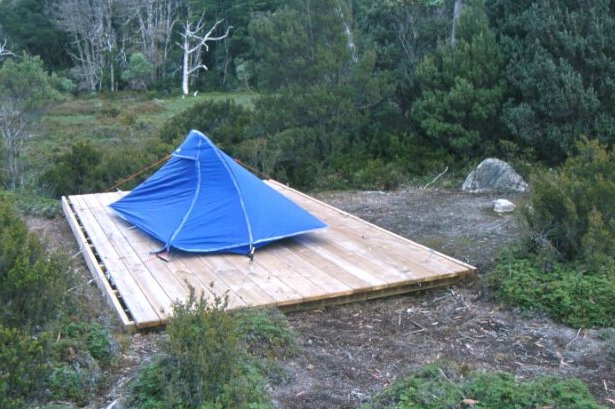 Tent Platform & Bushwalk Australia Wiki - Tent Platform