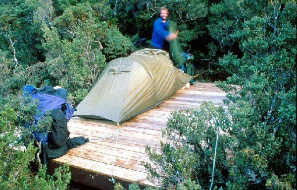 However ... & Bushwalk Australia Wiki - Tent Platform